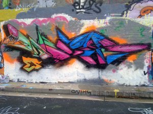 doer graffiti piece 2011