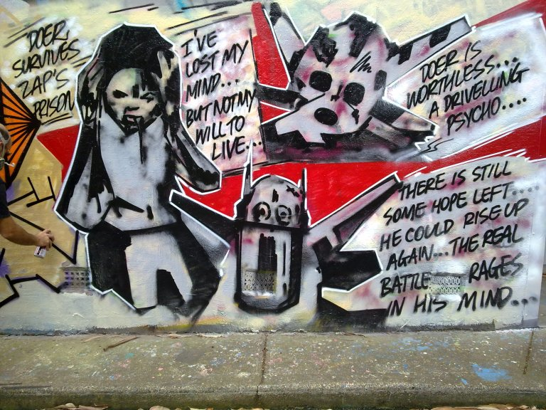 Graffiti Doer Survive 2010
